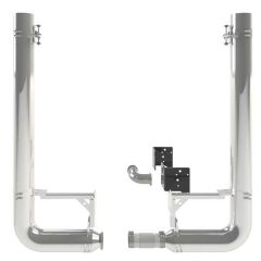 Peterbilt 389 8-Inch to 5-Inch Dia. Spool and Pickett Elbow Kit