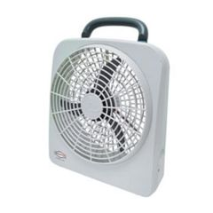 "RoadPro 12-Volt Battery 10"" Portable Fan"