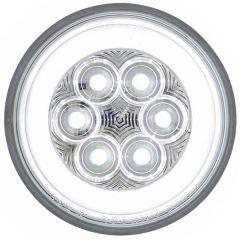 """4"""" White 21 LED Back-Up Glow Light"""