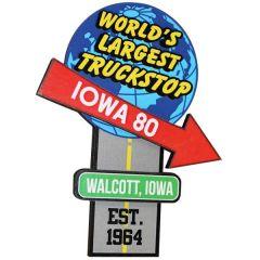 Iowa 80 The World's Largest Truckstop Magnet