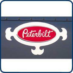 Peterbilt Elegance Interior Door Logo Trim