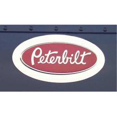 Peterbilt Halo Logo Trim