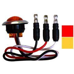 """1 3/16"""" Dual Function Mini Button LED Light"""