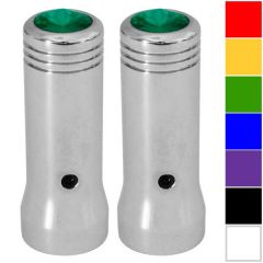 """2-1/4""""L Aluminum Toggle Extensions with Jewel for International & Mack"""