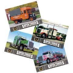 Series 14 CAT Scale Super Trucks Card Set