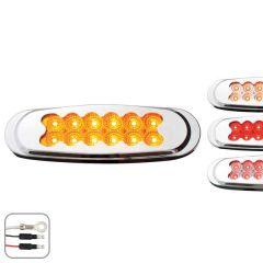 Ultra Thin Spyder Matrix Dual Function LED Marker Lights