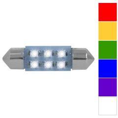 211 6 LED Dome Light Bulbs 36mm (PR)