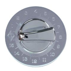 Chrome Engine Timer Knob and Stainless Steel Plate