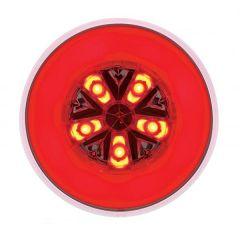 "4"" Red 18 LED Round Glow Light"