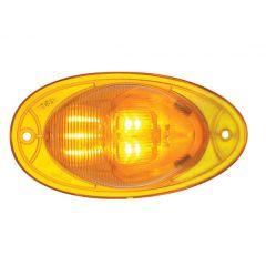 "5"" Amber 7 LED FL Cascadia Turn Signal Light"