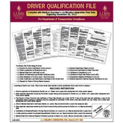 Complete Driver Qualification File Packet