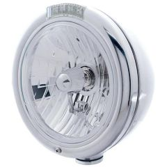 Peterbilt SS Headlight w/ H4 Bulb and AMB/CLR LED