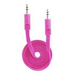 3' Pink 3.5mm Auxiliary Audio Cable