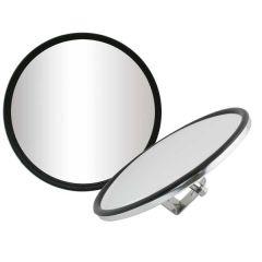 "6"" Chrome Convex Mirror Center Mount"