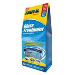 Rain-X Glass Cleaner Treatment Wipes 10PK