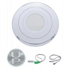 Chrome Steering Wheel Horn Button