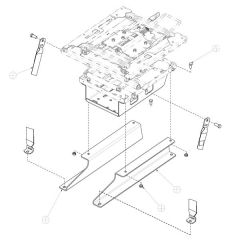 Atlas II Seat Peterbilt & Kenworth Adapter Kit
