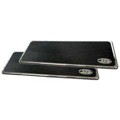 "Peterbilt 379 16"" Chrome Aluminum Step Plates"