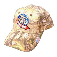 Iowa 80 World's Largest Truckstop Camo Hat