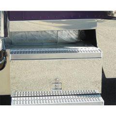 Peterbilt Stainless Battery/Tool Box Panel PR