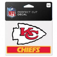 Kansas City Chiefs Perfect Cut Color Decal