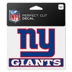 New York Giants Perfect Cut Color Decal