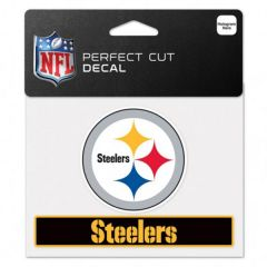 Pittsburgh Steelers Perfect Cut Color Decal
