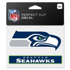 Seattle Seahawks Perfect Cut Color Decal