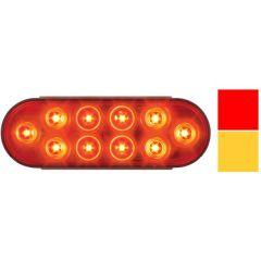 """6-1/2"""" 10 LED Oval Mega 10 Plus Light"""