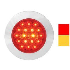 "4"" Surface Mount LED Light with Twist-On Bezel"