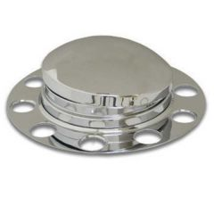 SS Front Axle Cover for Stud-Pilot Aluminum Wheel