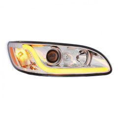 Peterbilt 386, 387 Chrome Projection Headlight P/S