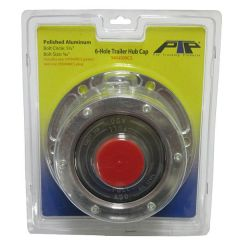 """6-Hole Trailer Hubcap with 5.5"""" Bolt Circle"""