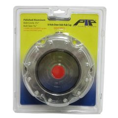 """6-Hole Truck Front Axle Hubcap w/ 5.5"""" Bolt Circle"""
