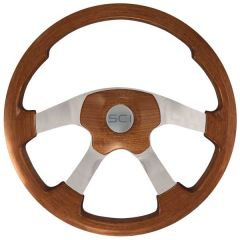 Light Mahogany Wildwood Steering Wheel 20""