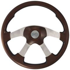 Mahogany Wildwood Steering Wheel 20""