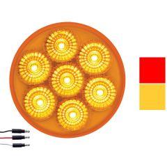 2-1/2 Inch 7 LED Dual Function Spyder Marker Light