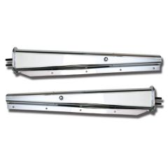 Stainless Steel Spring Loaded Mud Flap Hangers 30""