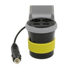 Dual 12-Volt and Dual USB Car Charger