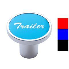 """""""Trailer"""" Sticker Aluminum Air Valve Knob"""