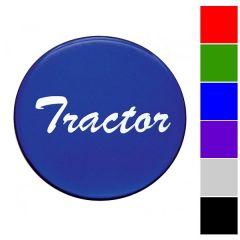 "Glossy ""Tractor"" Air Valve Knob Sticker"