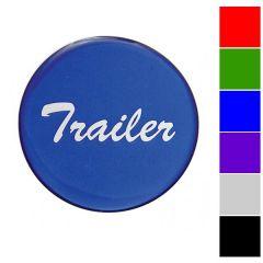 """Glossy """"Trailer"""" Air Valve Knob Sticker"""