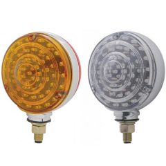 88 Amber/Red LED Double Face Turn Signal Light