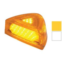 Peterbilt 37 LED Turn Signal Light with Chrome Base
