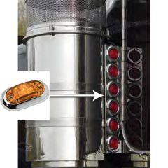 """PB 15"""" Rear Air Cleaner Challenger Light Bars"""