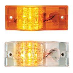 """6"""" x 2"""" 9 LED Rectangular Side Mount Spyder Turn/Marker Light"""