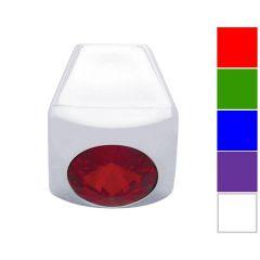 Chrome A/C Slider Control Knob with Diamond 3PK
