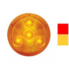 """2-1/2"""" 4 LED Low Profile Clearance/Marker Light"""