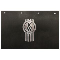 """24""""W x 15""""L Kenworth Key Poly Front Mud Flap (EA)"""