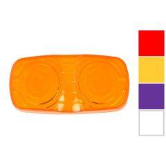 Lens for Dual Bulb Cat-Eye Marker Light